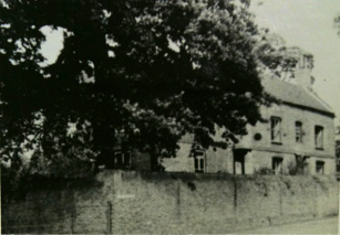 The Lindens before the demolition of Lea Hall